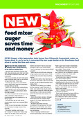Farmers Direct - New feeder mixer auger saves time and money