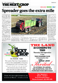 The Land - Spreader goes the extra mile